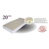 Best Dream Wools vákummatrac (140x200 cm)
