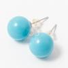 Beszúrós gömb fülbevaló több szín jwr-1459