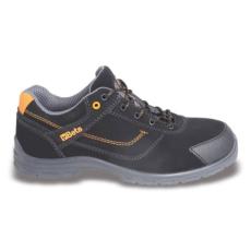Beta 7214FN/48 action nabuk bőr munkavédelmi cipő, mérsékelten vízálló kopásálló orrvédő betéttel, 48 méret