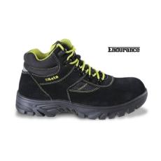 Beta 7238WR/47 hasítottbőr munkavédelmi cipő nylon betétekkel, nagyellenállású gumitalp és gyorskioldás ,vízálló, 47 méret