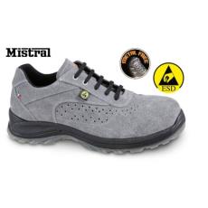 Beta 7319ESD/48 Perforált hasítottbőr munkavédelmi cipő, ESD, 48 méret