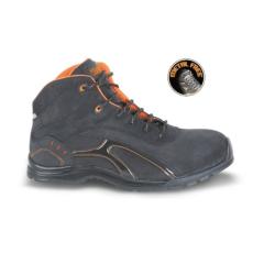 Beta 7350RP/43 Nubuck-Look munkavédelmi cipő, mérsékelten vízálló, gumitalp puha PU-profillal, 43 méret
