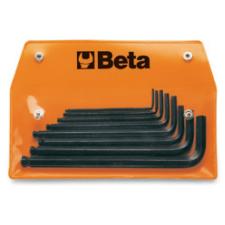 Beta 96BP-AS/8 8 részes hajlított gömbfejű imbuszkulcs szerszám készlet műanyag dobozban imbuszkulcs