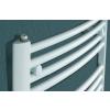 Betatherm BY 60100 (969*600) íves fürdőszobai radiátor, fehér, BY Dhalia törölköző szárító radiátor, fürdőszobai csőradiátor, BY Dhalia