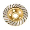 Betonmaró gyémánttárcsa Turbó felület d=125x22,23 mm arany - TLS-DIAMOND