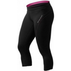 Better Bodies Fitness 3/4 Tight Pant (fekete/sangria) (1 db)
