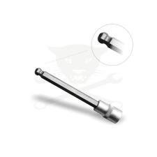 """BGS Technic Rátűzőkulcs - crowa+bit 1/2"""" imbusz  8 mm, hosszú, gömbvégű (9-4258-8) imbuszkulcs"""