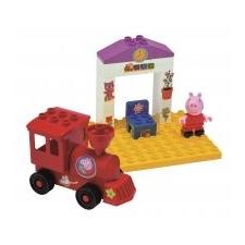 BIG PlayBig Bloxx Peppa Pig vasútállomás barkácsolás, építés