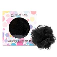 Big Teaze Toys - fürdőrózsa minivibrátorral (fekete) vibrátorok