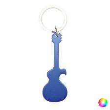 BigBuy Accessories Gitár alakú Nyitó Kulcstartó 143900 Ezüst színű kulcstartó