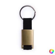 BigBuy Accessories Kulcstartó 145037 (2,7 x 6,8 x 0,6 cm) Aranyszínű kulcstartó