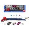 BigBuy Fun Autószállító kamion és hátrahúzós kisautók 118824
