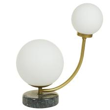 BigBuy Home Asztali Lámpa Alumínium (24 X 15 x 31 cm) világítás
