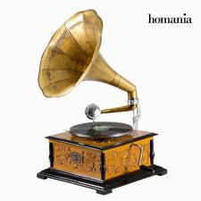 BigBuy Home gramofon Négyzetben - Old Style Gyűjtemény by Homania kerti dekoráció
