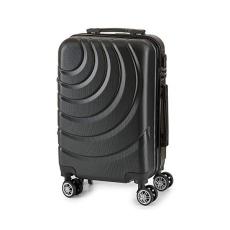 BigBuy Home Kabin bőrönd ABS (22 x 57 x 37,5 cm) (Aranyszínű)