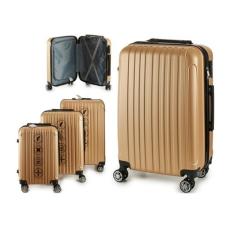 BigBuy Home Kabin bőrönd Set ABS 3 Darabok