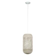 BigBuy Home Mennyezeti Lámpa Természetes rattan (31 X 31 x 62 cm) világítás