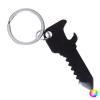 BigBuy Outdoor Nyitó Kulcstartó 145626 (2,3 x 6,1 x 0,2 cm) Fekete