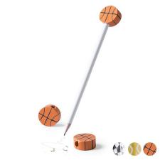 BigBuy School Ceruza radírral Sports 145218 Kosárlabda iskolai kiegészítő