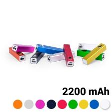 BigBuy Tech Power Bank 2200 mAh USB 144743 Sárga power bank