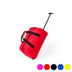 BigBuy Travel Kerekes bőrönd (27 x 55 x 27 cm) 144737 Sárga