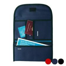 BigBuy Travel Tartó úti okmányokhoz Poliészter 300d 148946 Fekete/Kék pénztárca