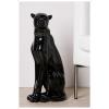 Bighome.hu Dekoratívna socha NUJA - čierna