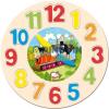 Bino Toys Kisvakond fa formaillesztős óra