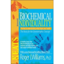 Biochemical Individuality – Roger J. Williams idegen nyelvű könyv
