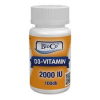 BioCo D3-Vitamin 2000 IU tabletta 100 db