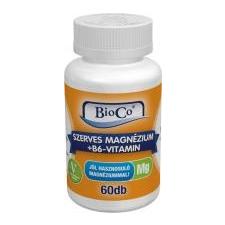 BioCo szerves magnézium tabletta 60 db gyógyhatású készítmény