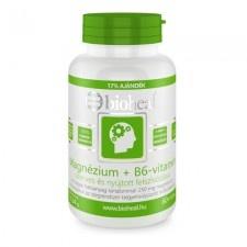 Bioheal Magnézium + B6-vitamin Szerves Nyújtott felszívódású tabletta 70 db vitamin