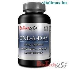 BioTech ONE-A-DAY 100 db vitamin és táplálékkiegészítő