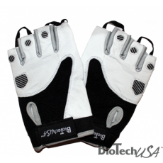 BioTech USA Fekete-fehér kesztyű