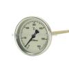 Biterm (magyar) Kemencehőmérő 0+600˚C-os, 20cm-es, menet nélkül