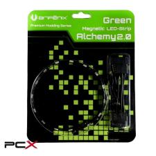 Bitfenix alchemy 2.0 60cm zöld led szalag modding