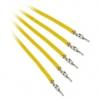 Bitfénix Bitfenix Alchemy 2.0 PSU kábel 5x20cm - sárga