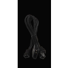 Bitfénix Bitfenix Molex 3x 3-Pin Adapter 12V 20cm - fekete / fekete