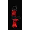 Bitfénix Bitfenix Molex 3x Molex Adapter 55cm - piros / fekete