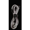 Bitfénix Bitfenix Molex 4x SATA adapter 20 cm - ezüst / fekete
