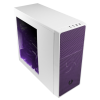 Bitfénix Bitfenix Neos Midi-Tower -fekete / ibolyalila Window