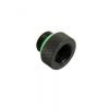 Bitspower Adapter G1/4 - hosszú, matt fekete