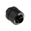 Bitspower Csatlakozó G1/4, 13/10 mm - matt fekete
