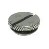 Bitspower Dugó G1/4 - sima, fényes ezüst