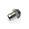 Bitspower Fitting G1/4, 10mm - kompakt, fényes ezüst