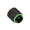 Bitspower hosszabbító G1 / 4 G1 / 4 inch, 15 mm-es -matt fekete