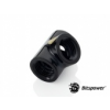 Bitspower Matt Black T-Block With Triple IG1/4 /BP-MBTB/