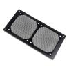 Bitspower Mesh RADGARD 240 Alumínium - Fekete