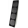 Bitspower Mesh RADGARD 560 Alumínium - Fekete