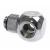 Bitspower T-Adapter G1/4 - fényes ezüst